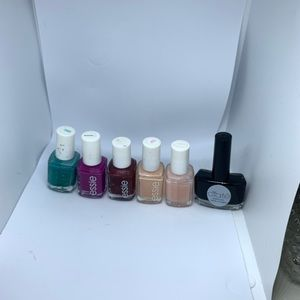 Essie multi-color nail polishes. Used